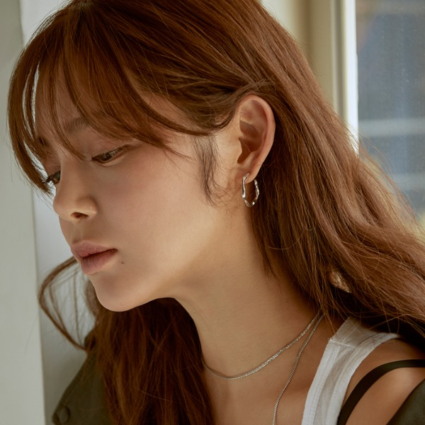 mzuu#[mzuu] Joli Small Hoop Earrings_MX9XX0900